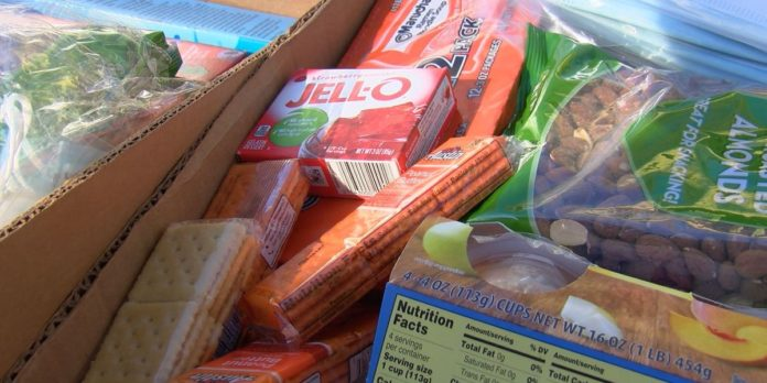 Free food box giveaway in Huntsville