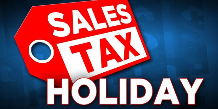 2021 severe weather preparedness sales tax holiday