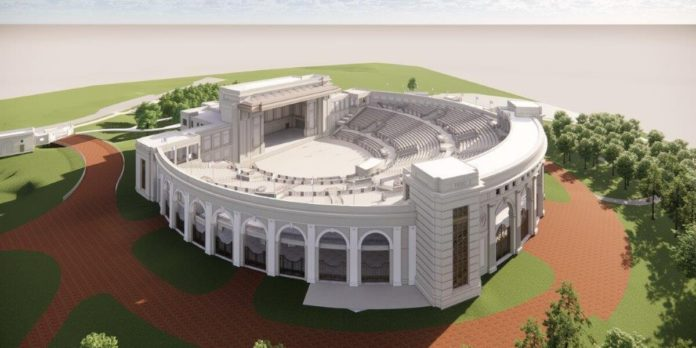 Huntsville Amphitheater set to open Spring 2022