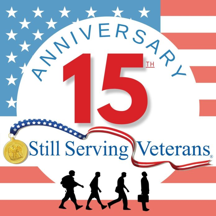 On its 15th anniversary, Still Serving Veterans is doing just that