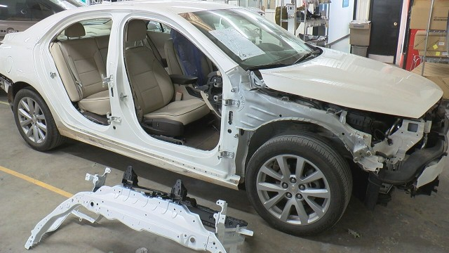 Body shops in Huntsville seeing more cars during winter weather