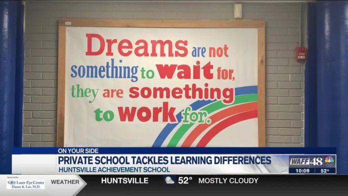 Huntsville Achievement School meeting students individual needs