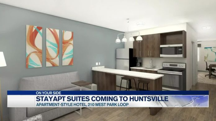 New stayAPT Suites, extended-stay hotel brand coming to Huntsville