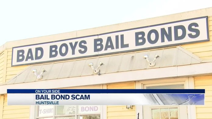 SCAM ALERT: Huntsville bail bonding company says scammers are using his name to get money