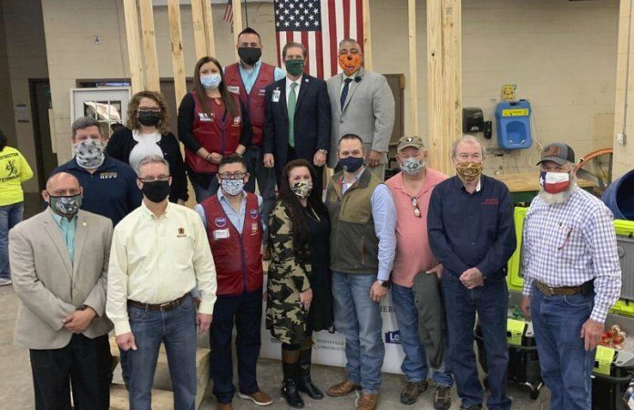 Student-led initiative at Huntsville ISD plans to build tiny houses for area veterans