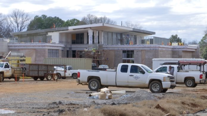 New South Huntsville Library on track to open by summer 2021