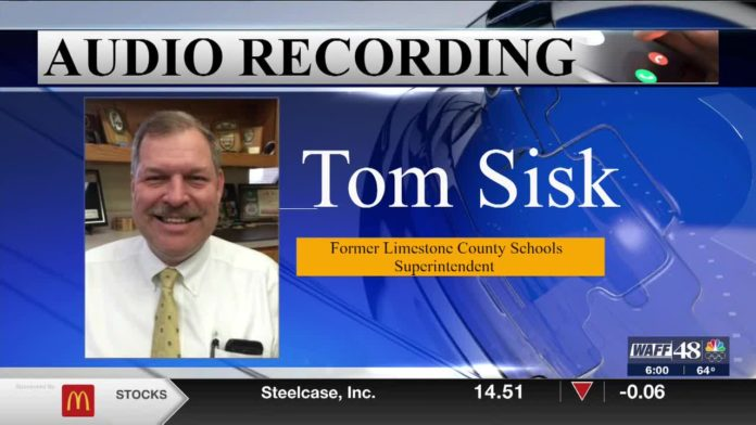 """Audio recordings from former Limestone County Superintendent: """"it didn't pass the smell test"""""""