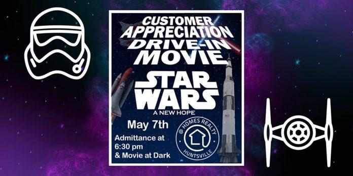 Star Wars Drive-In Movie